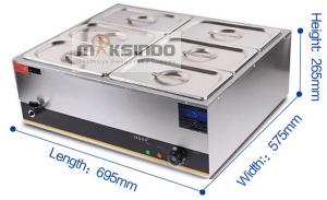 Electric Bain Marie Food Warmer-7-maksindo