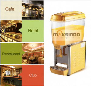 mesin juice dispenser 1 tabung 9 maksindo