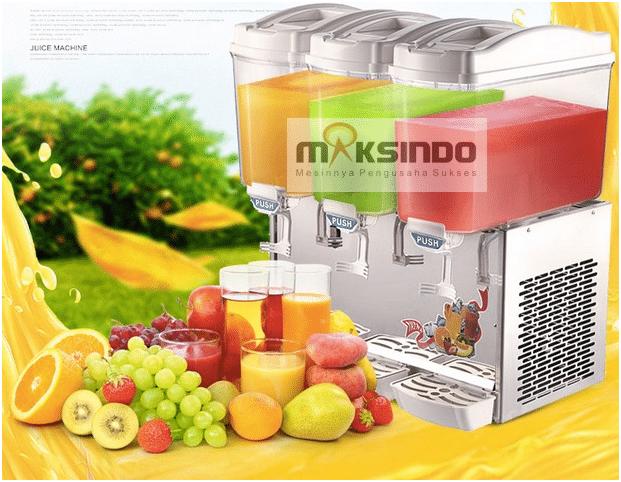 mesin juice dispenser 3 tabung 1 maksindo