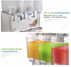 mesin juice dispenser 3 tabung 3 maksindo
