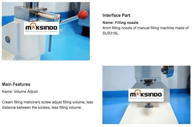 Mesin Manual Filling Cairan-Pasta - MKS-MF10 2 maksindo