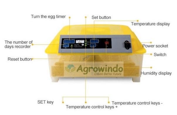 Mesin Penetas Telur Otomatis 48 Butir - AGR-YZ48-2
