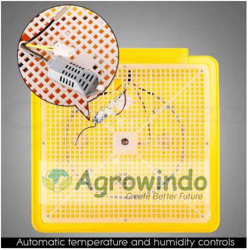 Mesin Penetas Telur Otomatis 48 Butir - AGR-YZ48-5