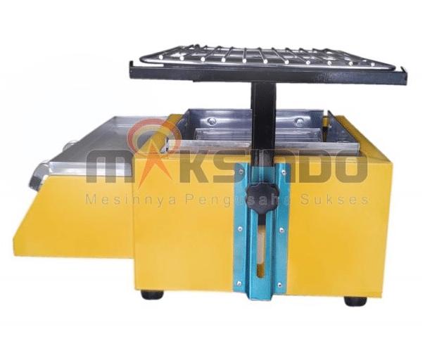 Mesin Pemanggang Sate - BBQ 2 Tungku (Gas) 2 maksindo