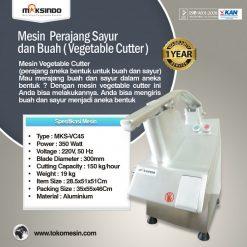 Mesin Vegetable Cutter