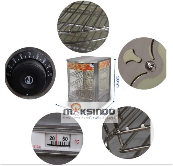 Mesin Warmer Kue Harga Hemat - MKS-P01 2 maksindo