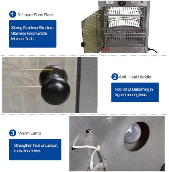 Mesin Warmer Kue Harga Hemat - MKS-P01 3 maksindo