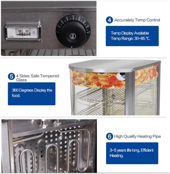 Mesin Warmer Kue Harga Hemat - MKS-P01 4 maksindo