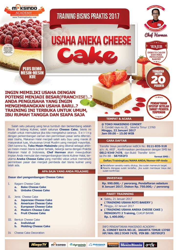 chef herman -brosur a4 cheese cake 1