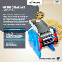 Cetak Mie Manual Untuk Usaha (MKS-200)