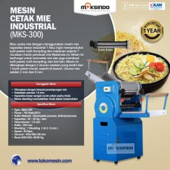 Mesin Cetak Mie Industrial (MKS-300)
