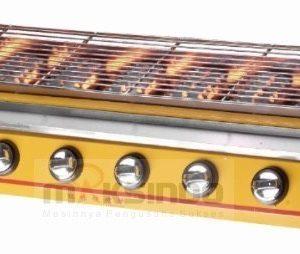 Pemanggang BBQ (gas) 8 Tungku 1 maksindo