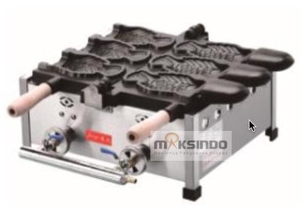 Mesin Gas Waffle Taiyaki Open Mouth (GTYK31) 3 maksindo