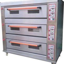 Mesin Oven Roti Gas 3 Rak 9 Loyang (GO39) 1 maksindo