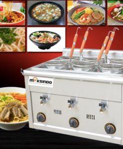 Mesin Pemasak Mie 6 Lubang (Gas, MKS-PC6) 1 maksindo