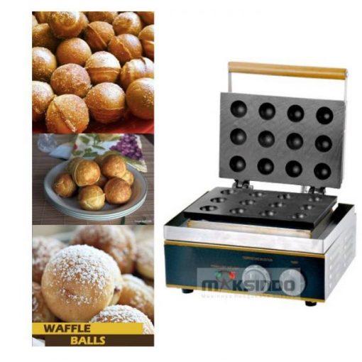 Mesin Waffle Bentuk Bola Bulat (BLS12) 1 maksindo