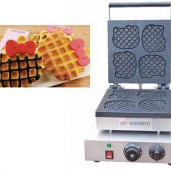 Mesin Waffle Bentuk Hello Kitty (Kitty2) 4 maksindo