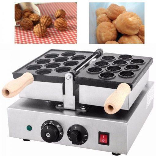 Mesin Waffle Bentuk Kacang Walnut (WLN10) 1 maksindo