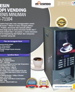 Mesin coffe vending 8 jinis minuman SC-71104