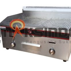 Pemanggang Griddle Flat-Grooved Gas (GG722) 1 maksindo