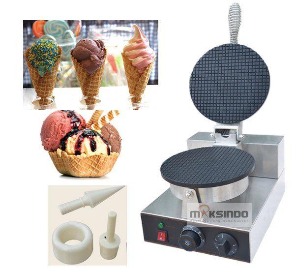 Pembuat Cone dan Mangkuk Es Krim (CIC21) 2 maksindo