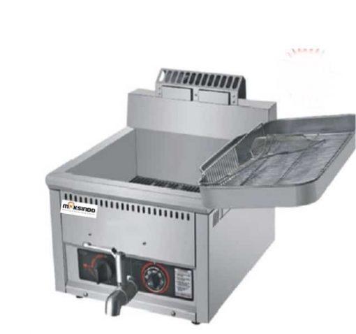 Mesin Luxury Gas Fryer 17 Liter (MKS-G17B) 2 maksindo