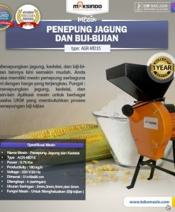 Mesin Penepung Jagung dan Biji-Bijian (AGR-MD15)