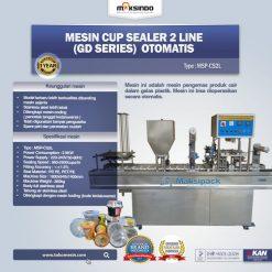 cup sealer otomatis 2 line